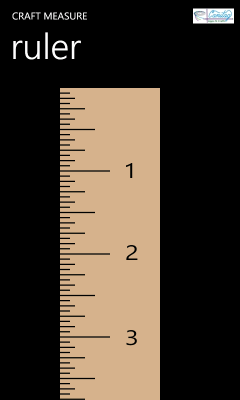 Image showing the ruler page