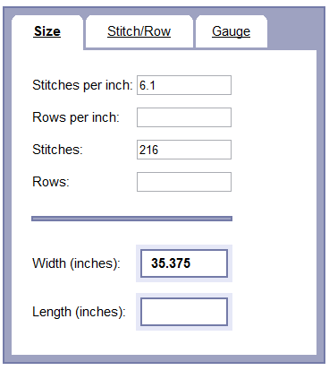 Image showing gauge in inches